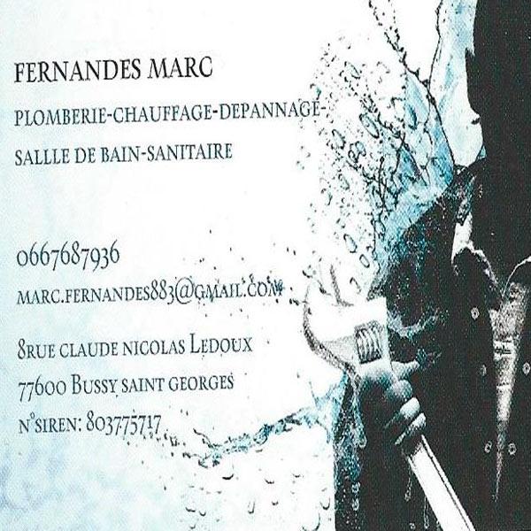 Carte De Visite Fernandes Marc